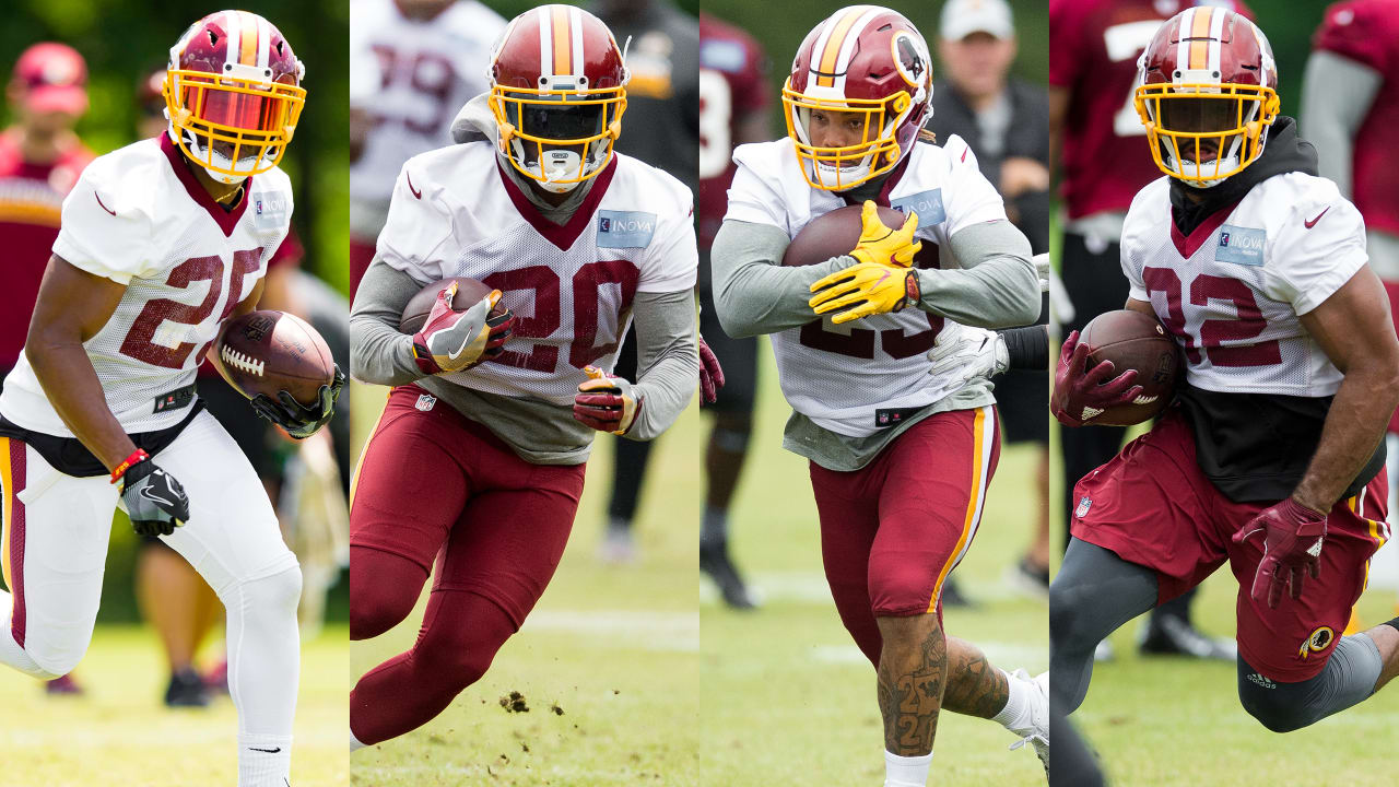 2018 Redskins In Richmond: Running Backs