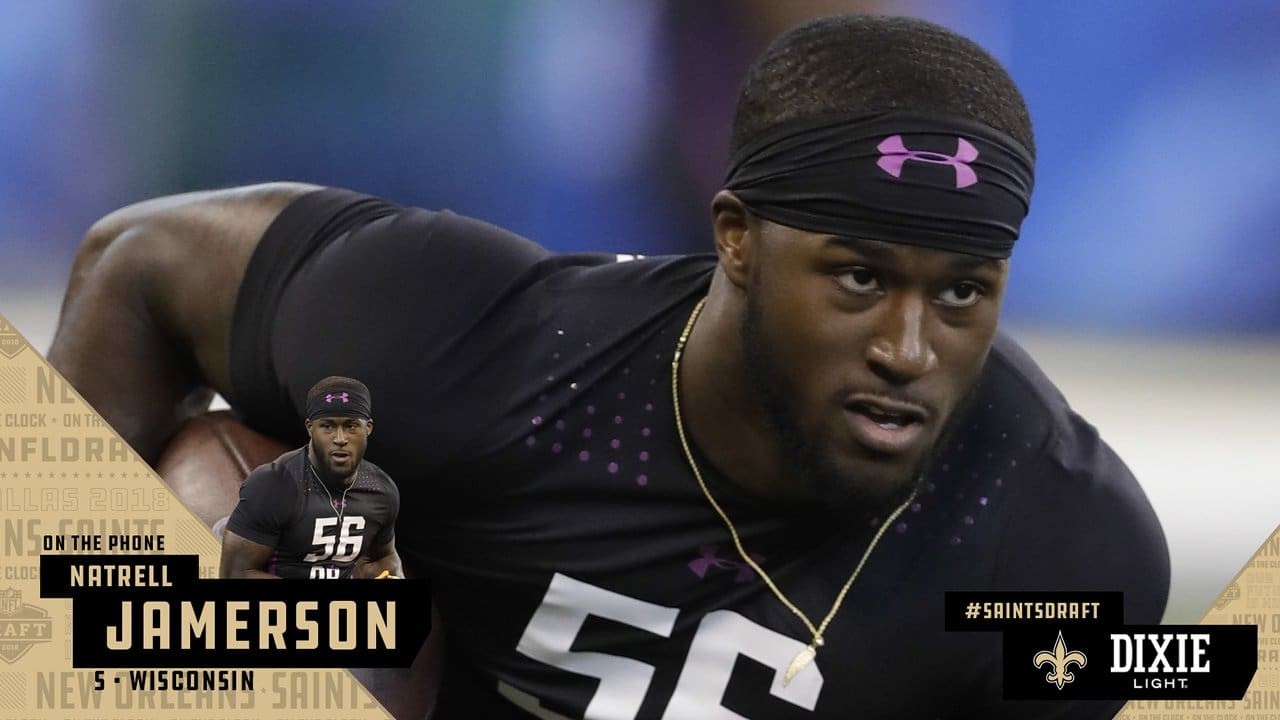One On One With New Orleans Saints Fifth Round Pick