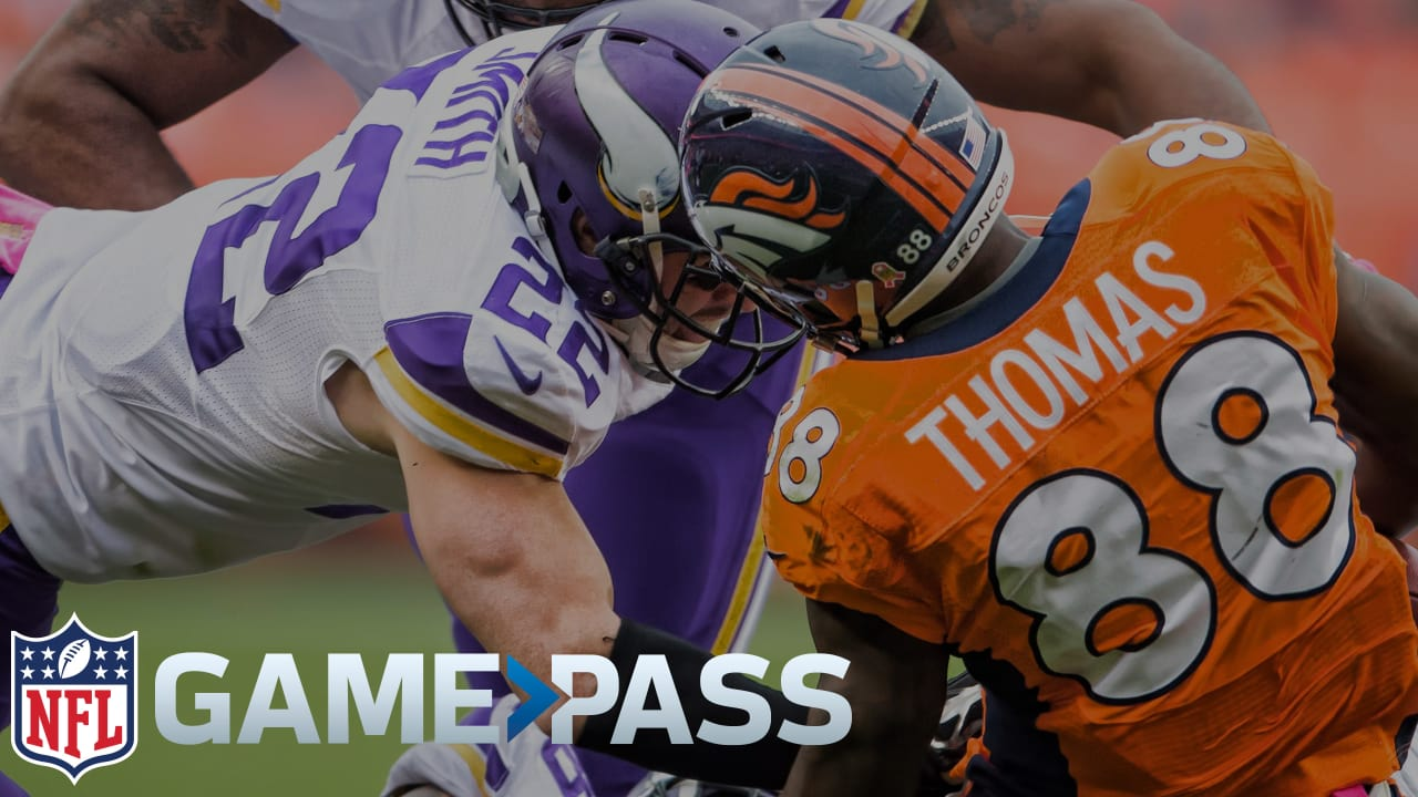 Watch Minnesota Vikings Preseason Games Online Via A Free Trial of NFL Game Pass