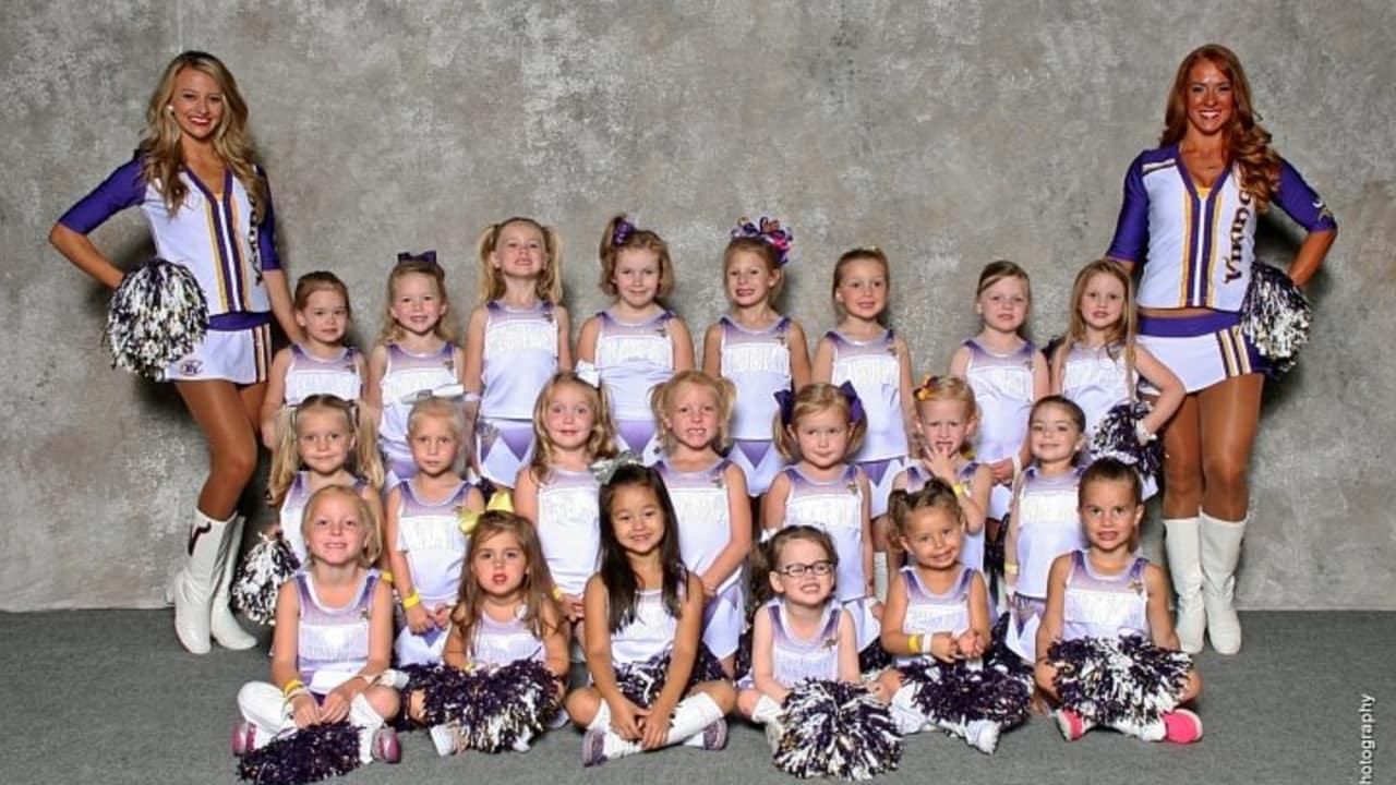 2014 Minnesota Vikings Junior Cheerleaders