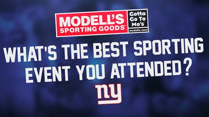 Giants reveal the best game they attended fb8c66dce