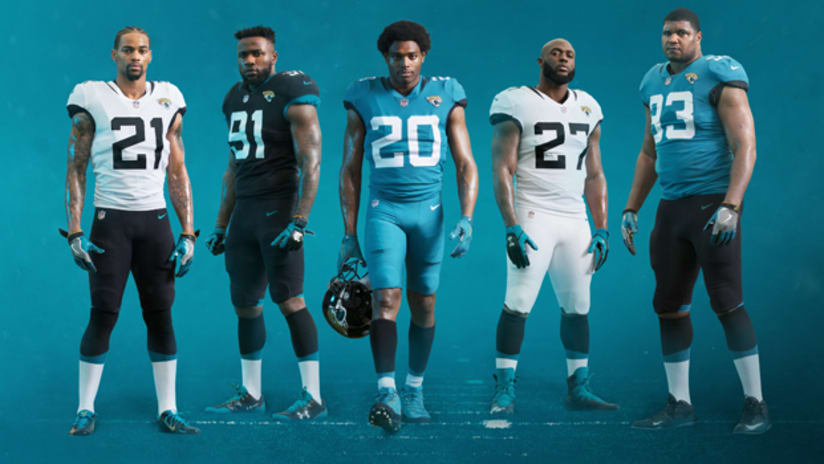 Jaguars unveil new Nike Vapor Untouchable uniforms 7d905c3eb
