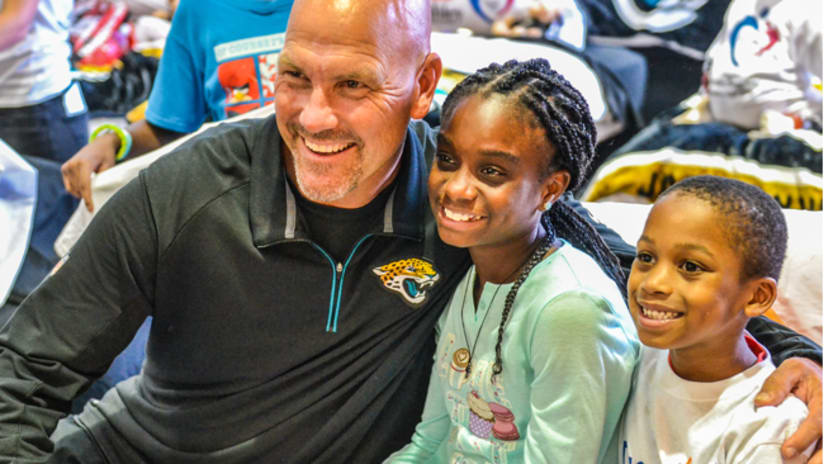 984593cb812 Jaguars and Ashley HomeStore honored at Fifth Annual Stadium Sleepover