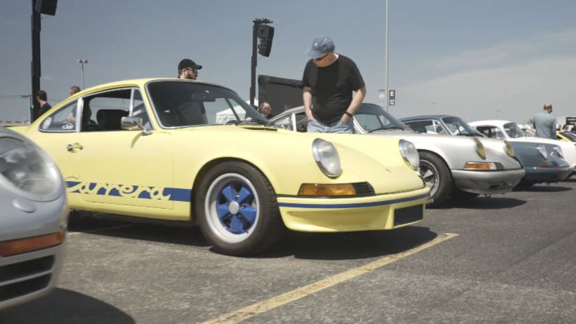 Jets, Tri-State Porsche Dealers Celebrate Sportscar ther Day