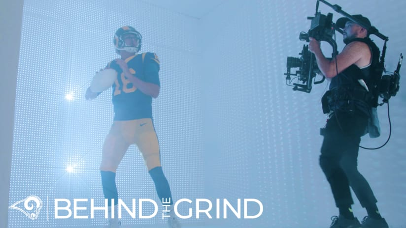"Watch Episode 8 of Rams Original Series ""Behind the Grind"""