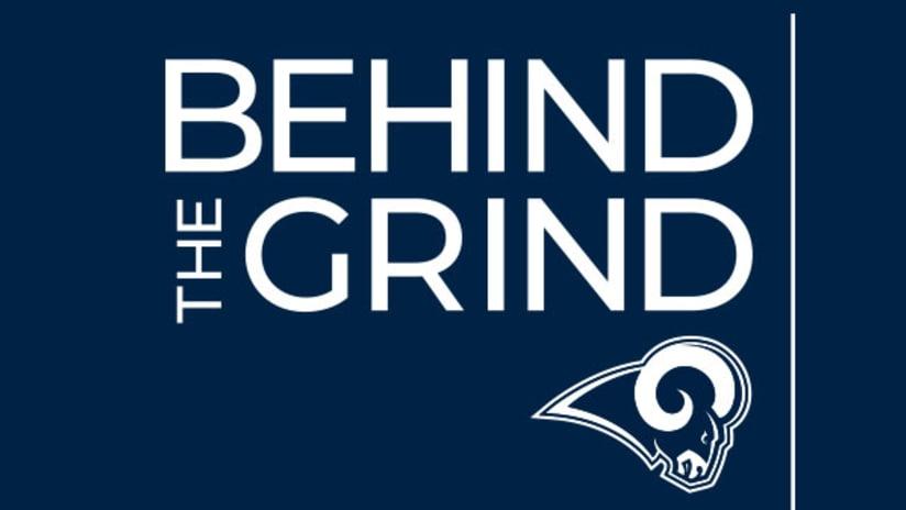 "Watch Episode 9 of Rams Original Series ""Behind the Grind"""