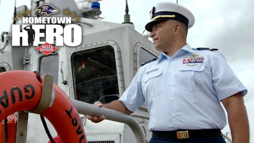 Hometown Hero Coast Guard CWO 4 Tracy Wade