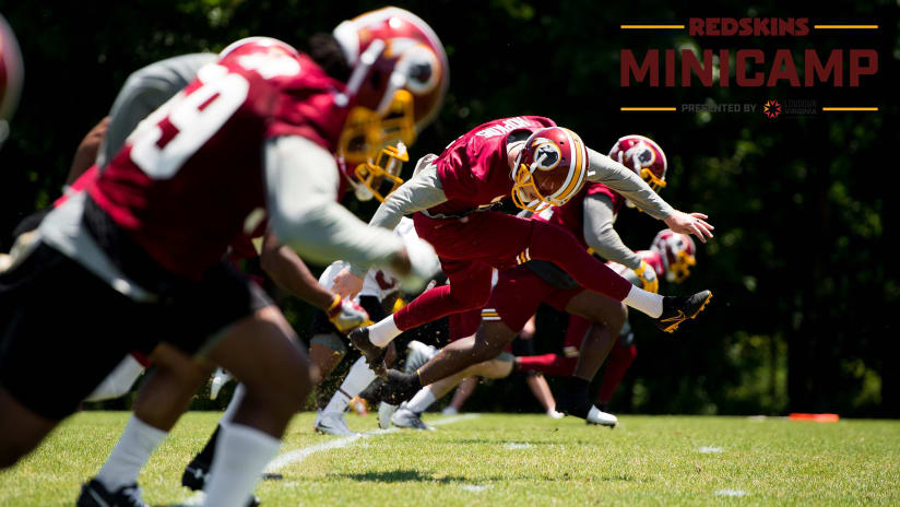 Redskins home washington redskins redskins 2018 washington redskins minicamp day 1 voltagebd Image collections
