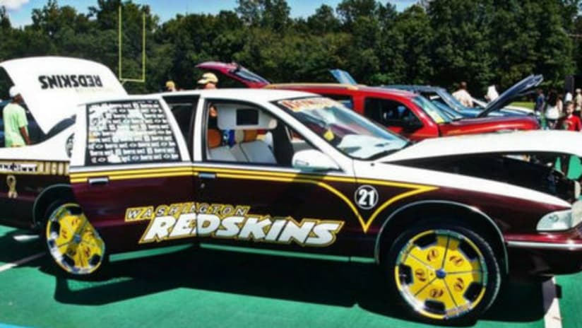Fan Rolls Out Redskins Themed Car On Craigslist