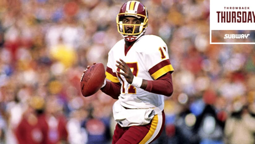 lowest price b8cfd 7a978 Throwback Thursday: Redskins QB In Awe Of Two Of The Team's ...