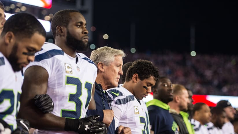 Seahawks React To New NFL National Anthem Policy