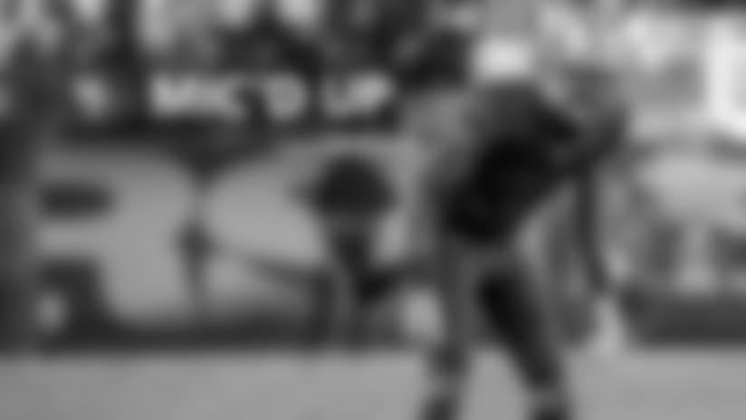 Mic'd Up: Rashard Robinson vs. Los Angeles Rams