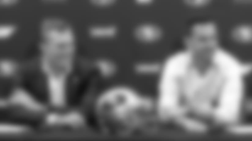 John Lynch and Kyle Shanahan Recap Day 2 of the 2018 NFL Draft