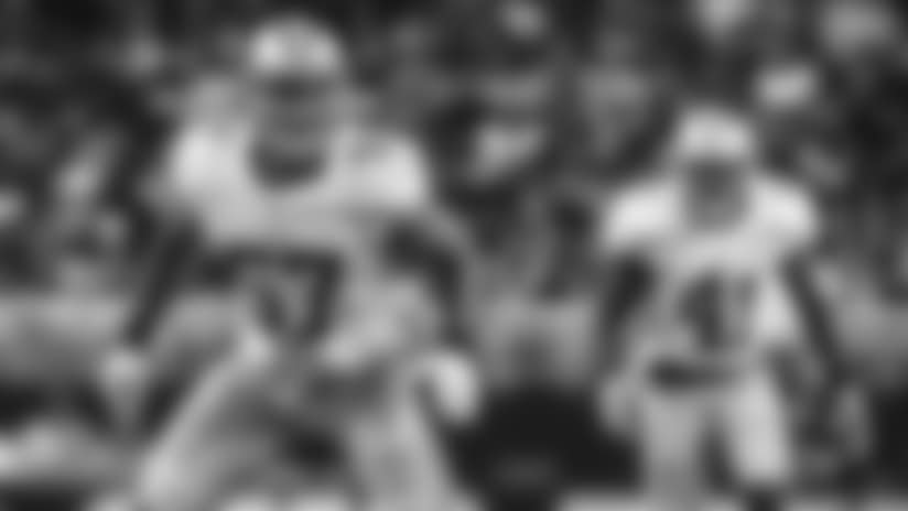 Mic'd Up: LB Michael Wilhoite vs. Rams