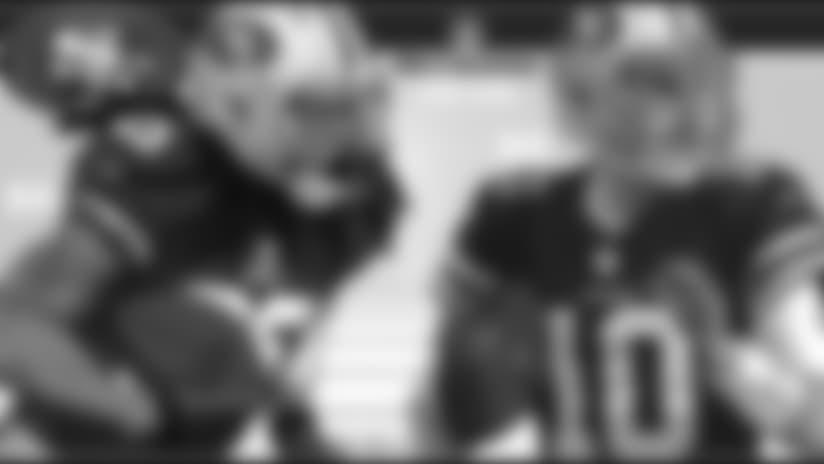 Garoppolo y Sherman en el Top 100 de NFL Network
