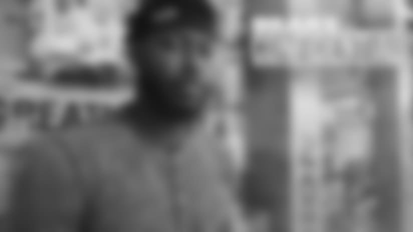 Confidential: Amos talks dedication to improve