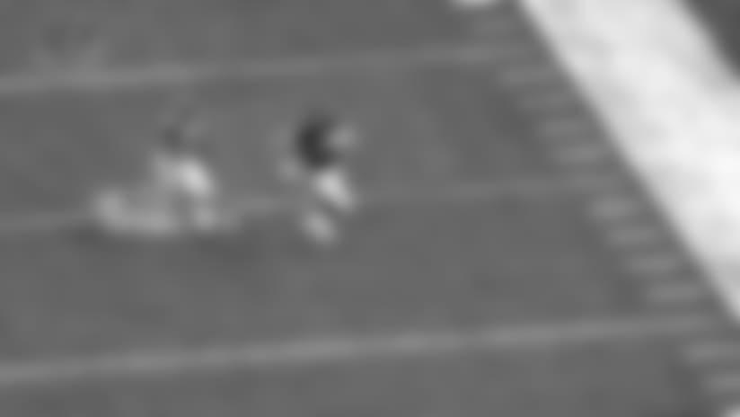 Adam Shaheen speeds to 29-yard reception