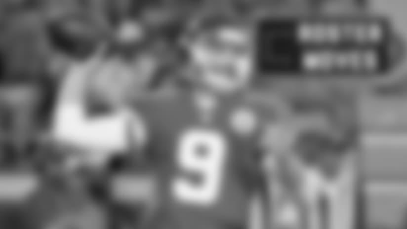 Roster Moves: Bears add backup quarterback Tyler Bray