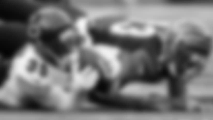 Eddie Jackson intercepts Andy Dalton