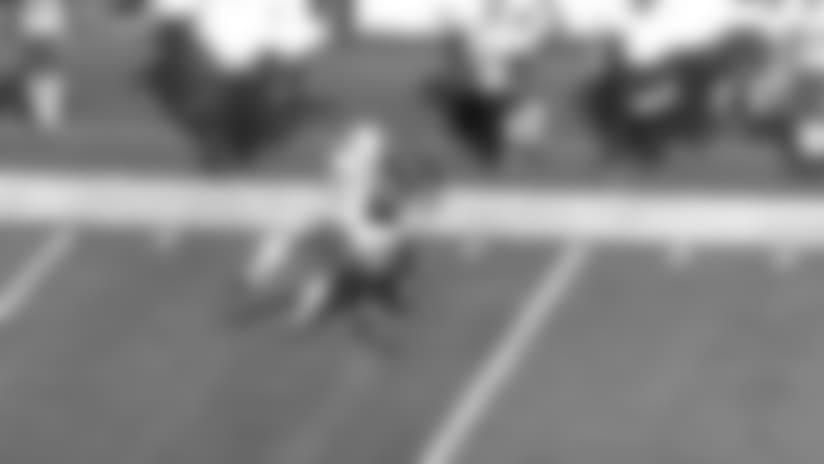 Ryan Fitzpatrick intercepted by Josh Shaw