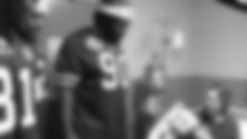 Bills rookies visit Women and Children's hospital