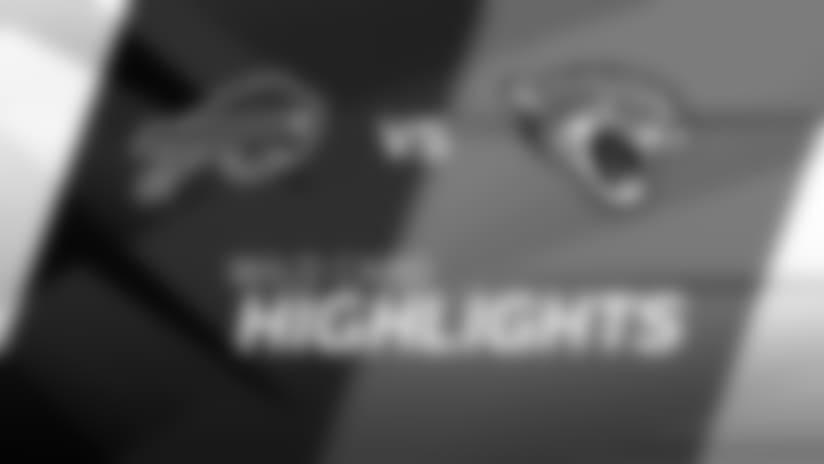 Bills vs. Jaguars highlights | AFC Wild Card