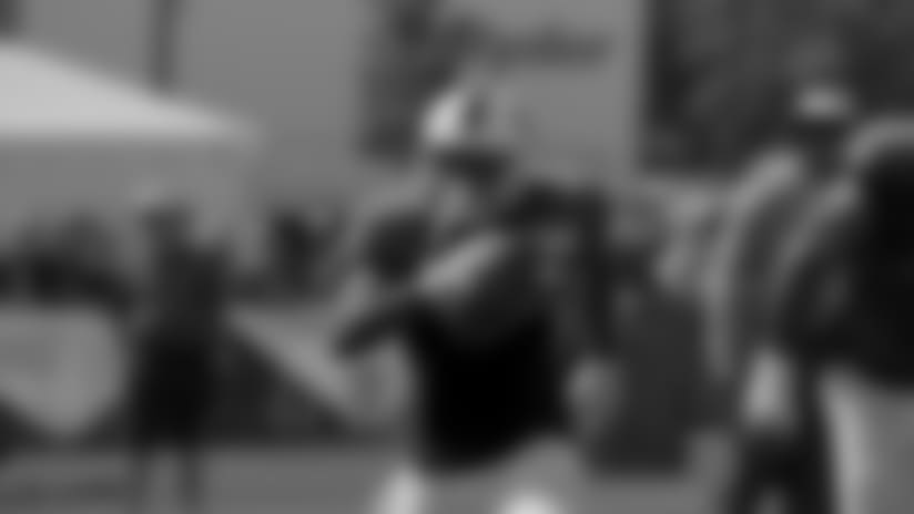 Camp Highlight: McCoy One-Handed Catch & Run