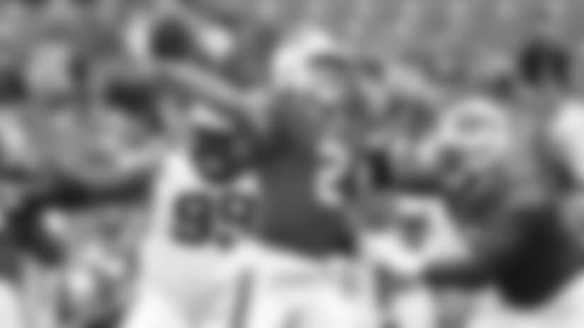 Bills Minute: All Three QB's Produced vs. Carolina