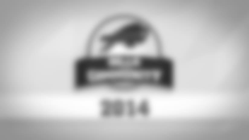 2014 Buffalo Bills in the Community