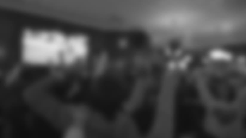 Watch: Locker Room and Fan Celebration