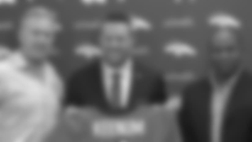 Case Keenum introduced as next Broncos QB