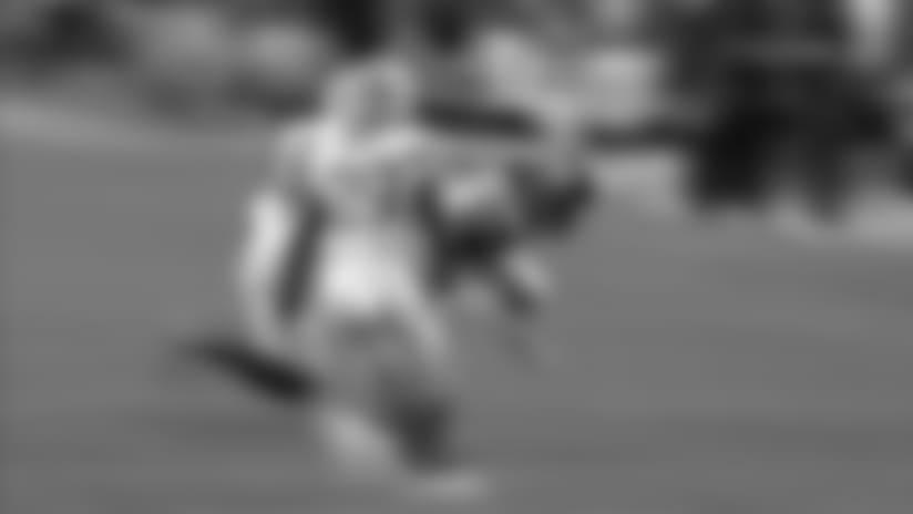 Jamaal Charles makes a move and gains 12 yards
