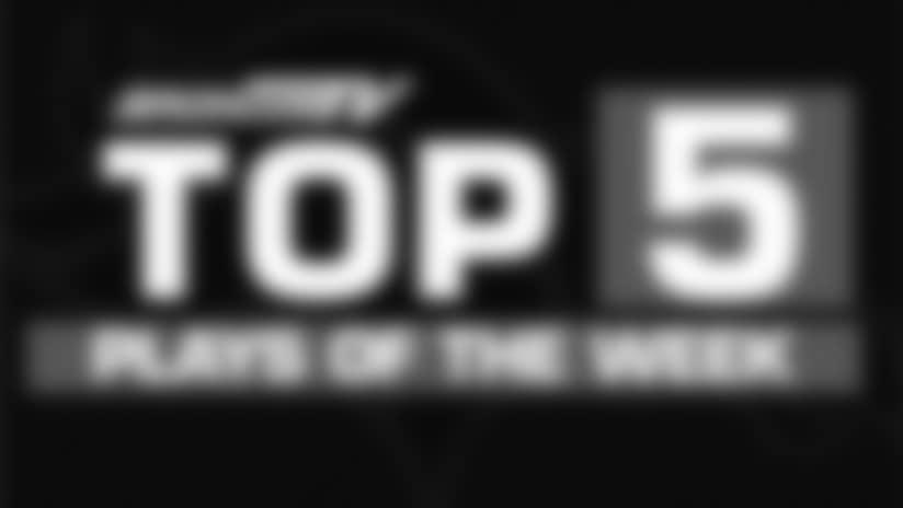 Top 5 Plays: Broncos vs. Jaguars