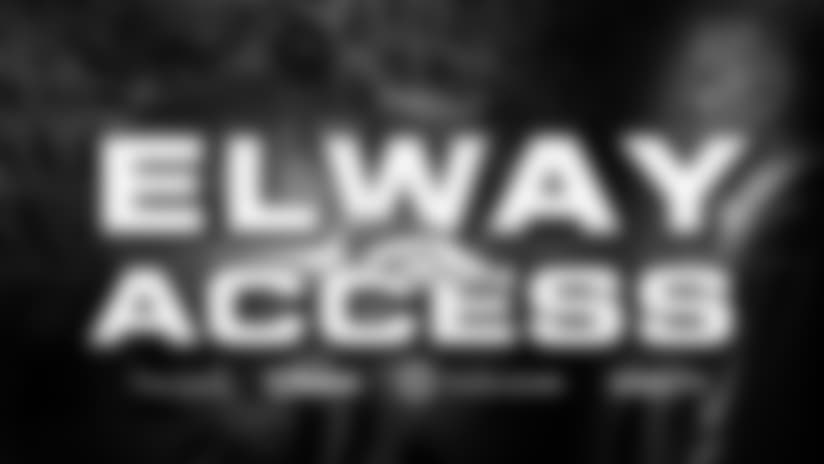 Elway Access: Getting ready for the Raiders