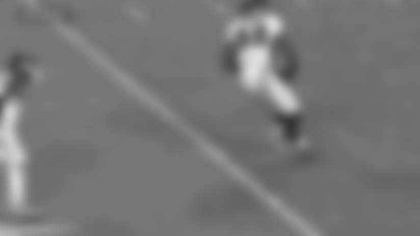 Trevor Siemian slings 22-yard pass to Demaryius Thomas