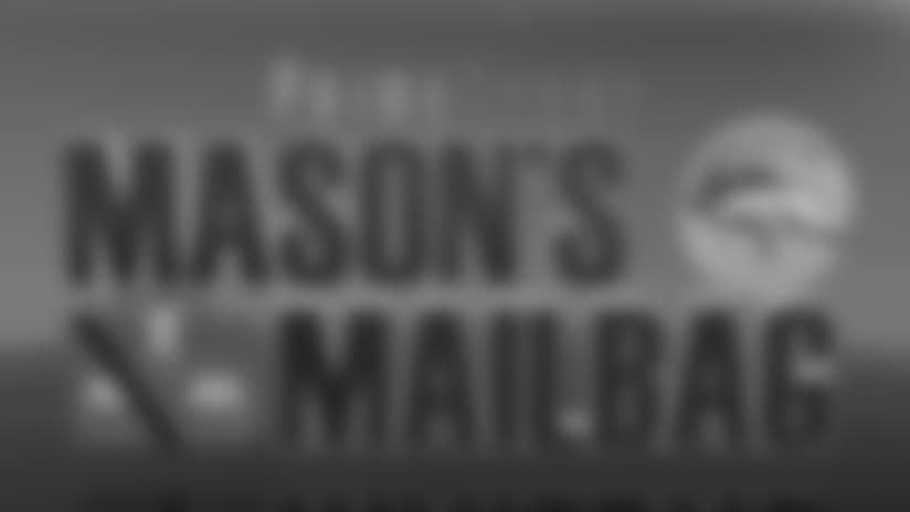 Mason's Mailbag: June 8