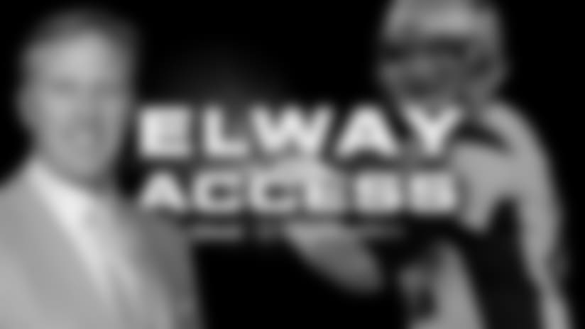 Elway Access: Great rivalry with Patriots
