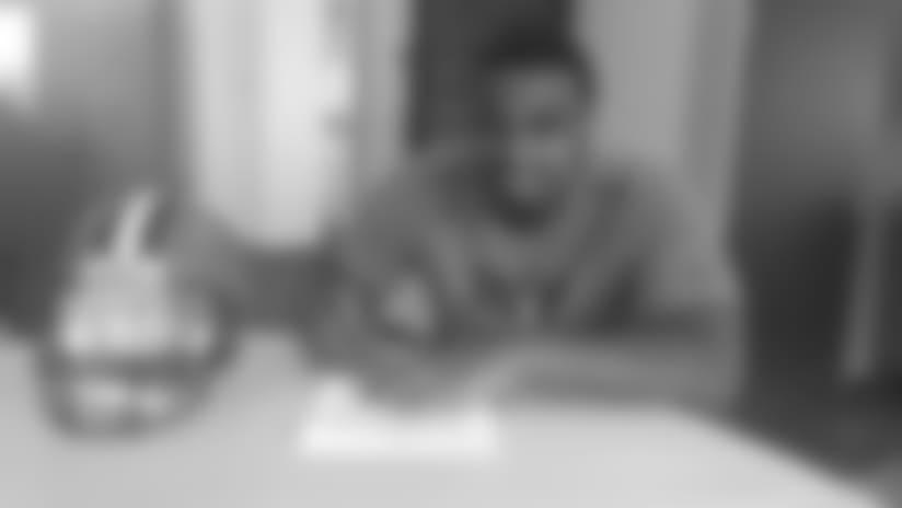 Browns sign DL Caleb Brantley