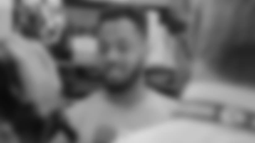 "Derrick Johnson: ""My Body is Adjusting Quickly"""