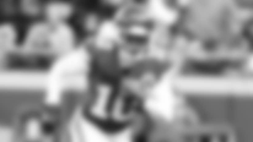 freeD: Alex Smith hits Tyreek Hill Downfield