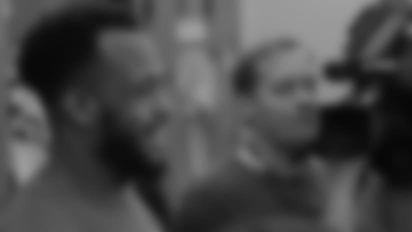 Derrick Johnson Talks About Dallas' Powerful Offensive Line