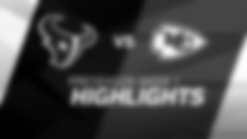 Chiefs vs. Texans: Game Highlights
