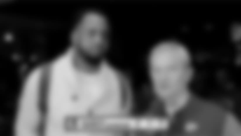 Mitch Holthus and BJ Kissel Speak to Derrick Johnson