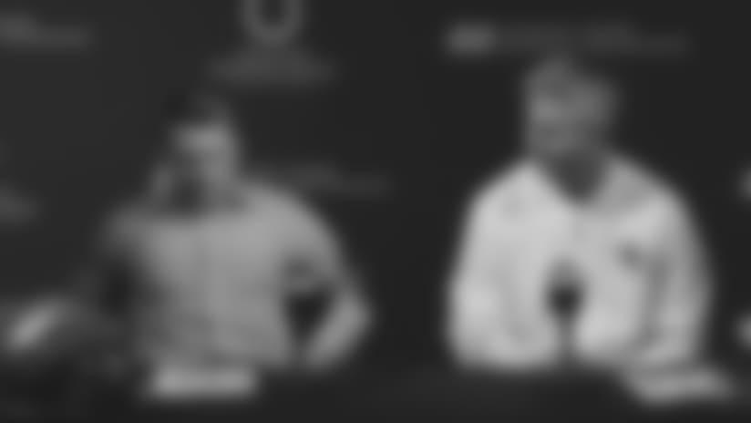 Chris Ballard & Frank Reich FULL Post Draft Press Conference - 2018 NFL Draft