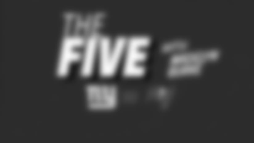 """The Five "" What you need to know about NYG-TB"