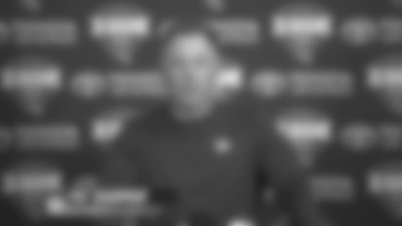 Coach Shurmur talks Giants Camp, Barkley, and Manning