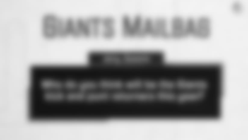 Giants Mailbag: Special Teams Predictions