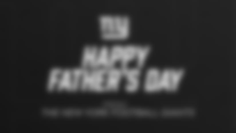 Happy Father's Day from the Giants