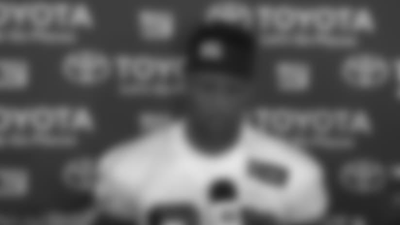 Saquon Barkley updates his injury status