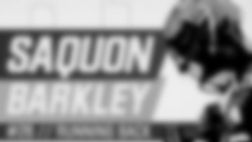 Saquon Barkley Highlights from spring practices
